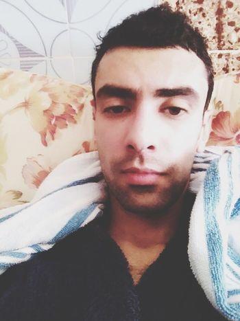 Selfie Self Portrait Goodmorning After Bath