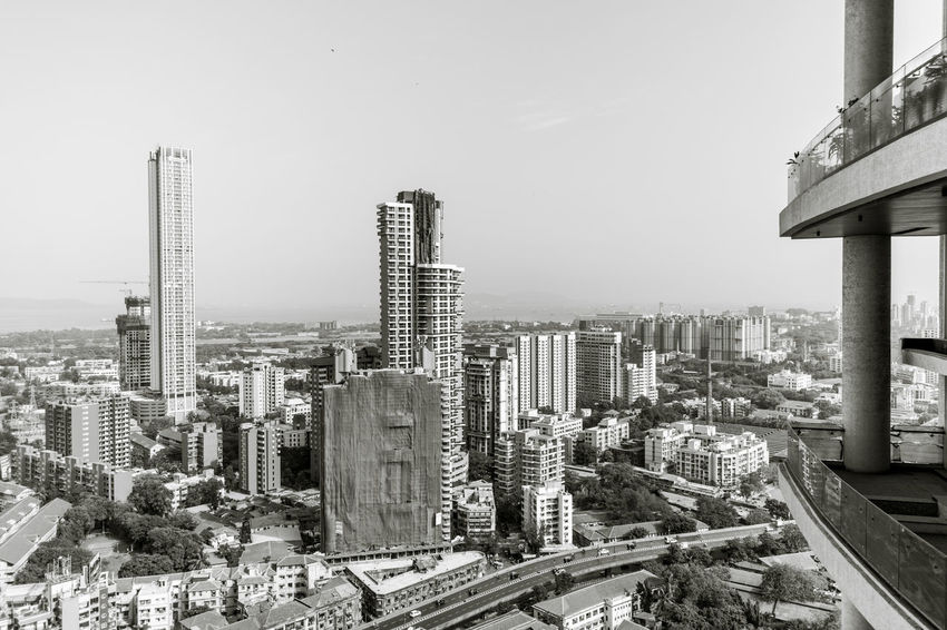 City from the top Balcony View Bombay City India Mumbai City Urban Lifestyle Urban Geometry Architecture Blackandwhite Blackandwhite Photography Building Building Exterior Built Structure City Citylife Cityscape Developing Country Financial District  Luxury Living Outdoors Residential District Residential Structure Sky Skyscraper Tall - High Tower
