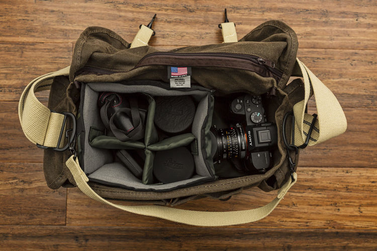 My Camera Bag Camera Camera - Photographic Equipment Domke Leica Leica Lens Lens Sony Sonya7II