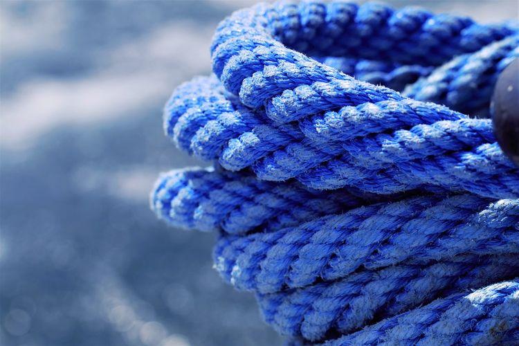 Detail shot of ropes