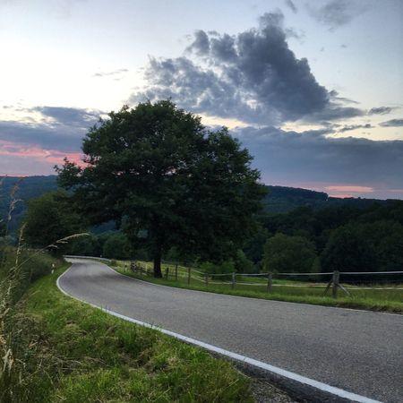 Driving Around Hometown Sundown Night Summernight ChillTaking Photos Enjoying Life