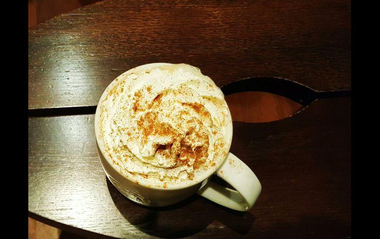 Paris, France  Starbucks Pumkinspicedlatte Coffee ☕ Relaxing Moments Autumn🍁🍁🍁