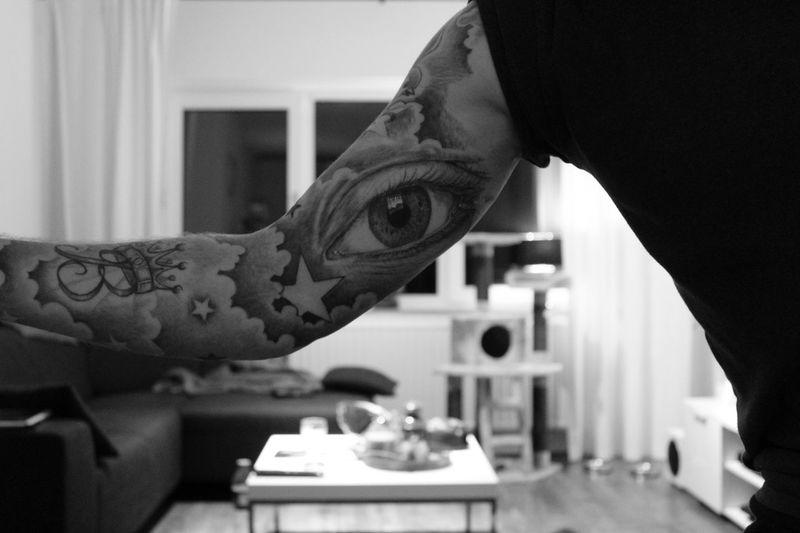 Tattooed ThatsMe Keeping An Eye On The World
