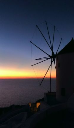 || Nature Theories || Santorini, Greece. TheFoneFanatic Vacations Mobilephotography PhonePhotography Nature Twilight Windmill Sea Sunset Rural Scene Seascape Horizon Over Water Calm Dramatic Sky Be Brave Summer In The City