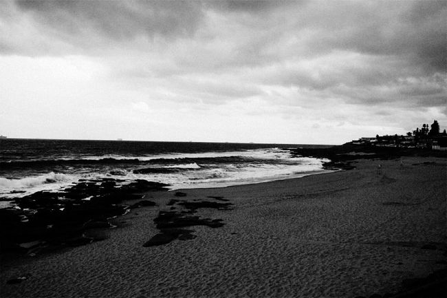 Black And White Friday Beach Sea Sand Nature Water Tranquility Sky Horizon Over Water Tranquil Scene Cloud - Sky Travel Destinations No People Scenics Beauty In Nature Outdoors Wave Vacations Day Low Tide