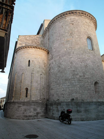 Apses Cathedral of Termoli Cathedral Church Motorcycle Termoli  Apse Architecture Building Exterior Built Structure Italy Molise Travel Destination