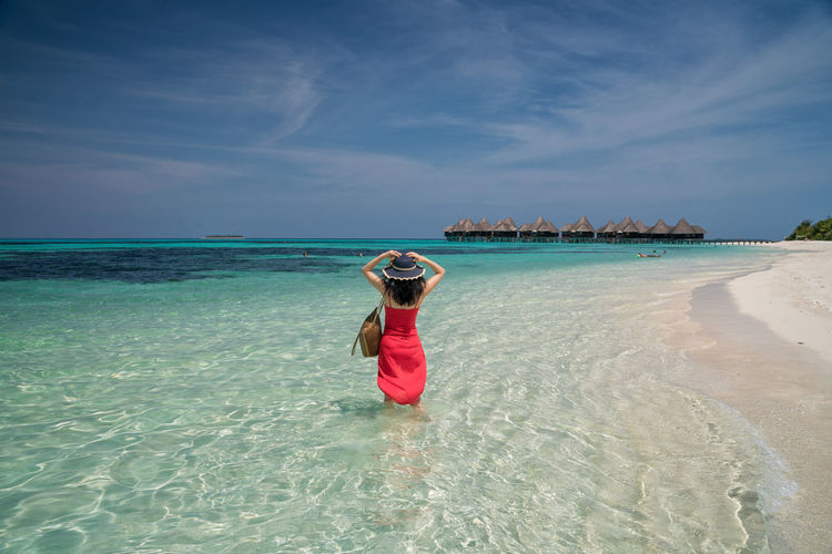 Beach Holiday Island Luxury Luxury Lifestyle Maldives Sand Sea Sun Vacations Water