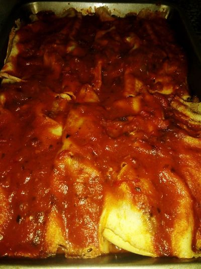 Canelones Close-up Food And Drink Grilled