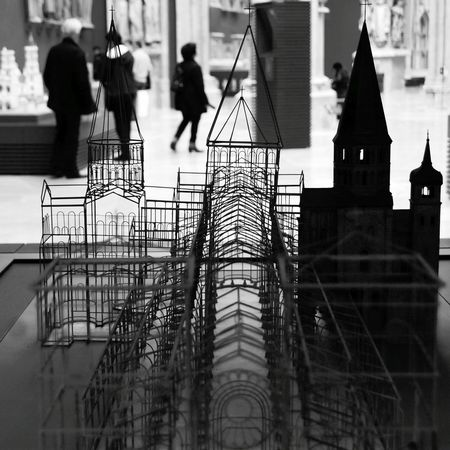 Architecture Blackandwhite Maquete Metal Structure Museum Maqueta