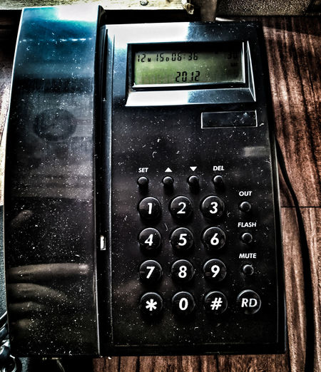 Technology Alphabet Communication Text Number Close-up Pay Phone Telephone Receiver Phone Cord Landline Phone Dial Retro Rotary Phone Telephone Booth Information Coin Operated EyeEmNewHere