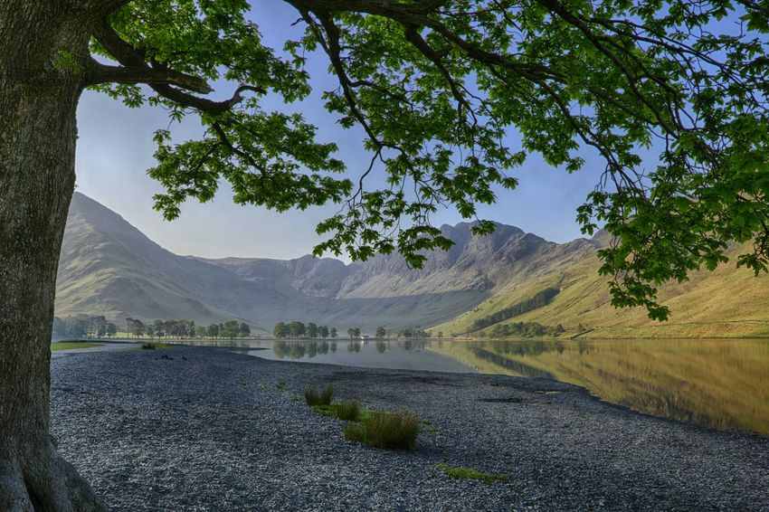 Buttermere Buttermere Landscapes Landscape_Collection Hdr_Collection Reflection Beautiful Day Lakedistrict Photography Streamzoofamily Lovely Weather Peace And Quiet Nobloodytourists
