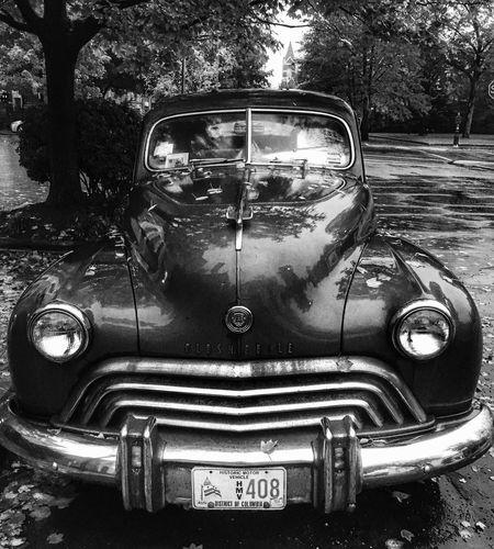 Black car Car Transportation Land Vehicle Mode Of Transport Tree Outdoors No People Day Close-up Oldsmobile