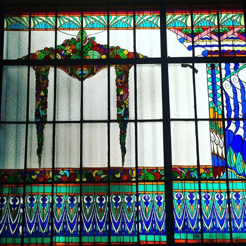 Architecture Vitral Stained Glass Museum Old House ColoniaRoma LaRoma Colors Color Colorful Mexico Cdmx
