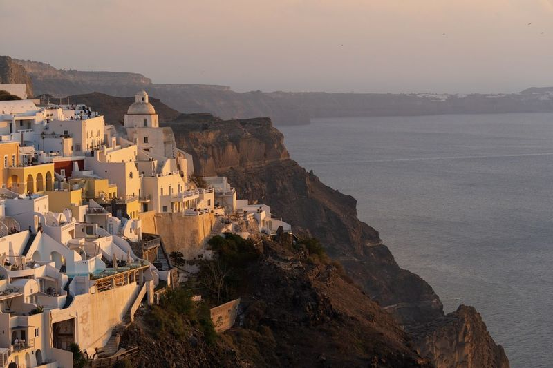 View on Fira in