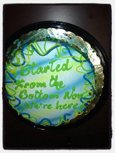 Our Senior Cake