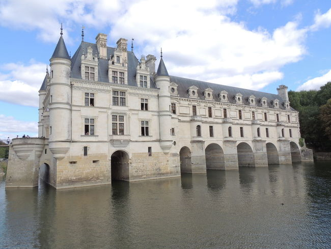 Chenonceau Chenonceaux Loire Loire Valley France Architecture Built Structure Sky Cloud - Sky Building Exterior Water Waterfront Nature River Arch Building No People History Day The Past Reflection Outdoors Travel Destinations Connection