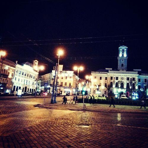 Night City Chernivtsi  Ukraine 💙💛