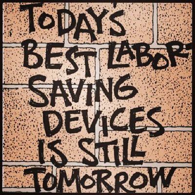 Laborday quote..