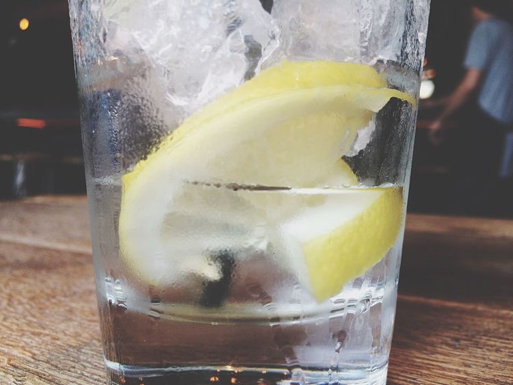 Gintonic Drink Bestia Budapest Alcohol