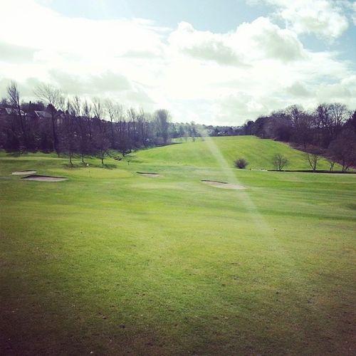 Not a bad day for golf! Finally Sun StillCan 'tBuyAPutt