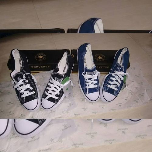 Brought another 2 All star's 😘😘 All_star Converse Blackandwhite Navyblueandwhite 😘😘😙😙