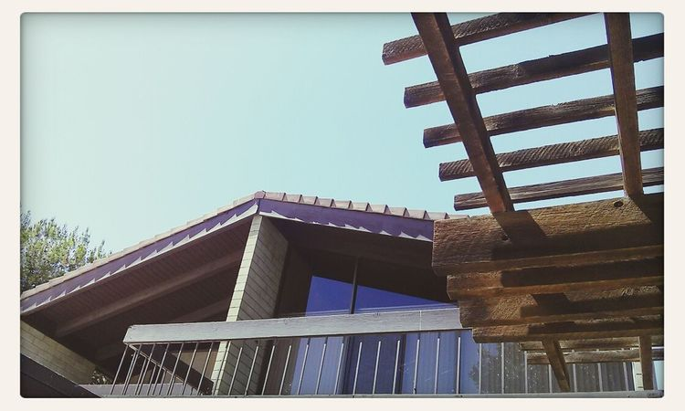Architecture House Geometric