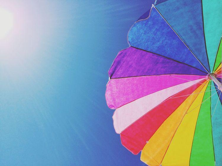 Enjoying The Sun Summer Colors Sky