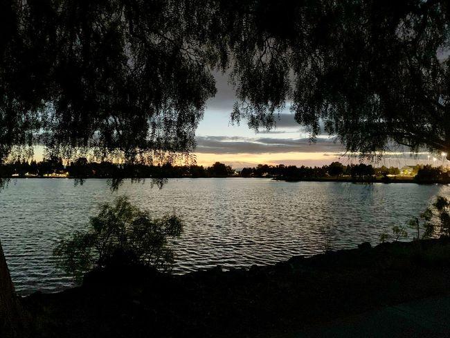 Twilight Twilight Fremont Lake Elizabeth
