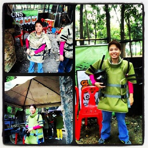Ready4game Fun Paintball Armygymbsium