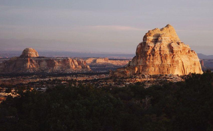 Green River Nature Landscape Sunrise Utah