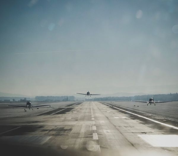 Graz Thalerhof LOWG Formation Flying Flying Take Off to Punitz
