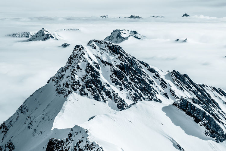 Arosa Epic Mountaineering Nature Rock Formation Snowboarding Stunning Scenery Wanderlust Above The Clouds Adventure Blackandwhite Fog Landscape Mood Mountain No People Rocky Mountains Skitouring Snow Snow Covered Snowcapped Mountain Sonya7II Stunning View Swiss Alps Swiss Mountains EyeEmNewHere