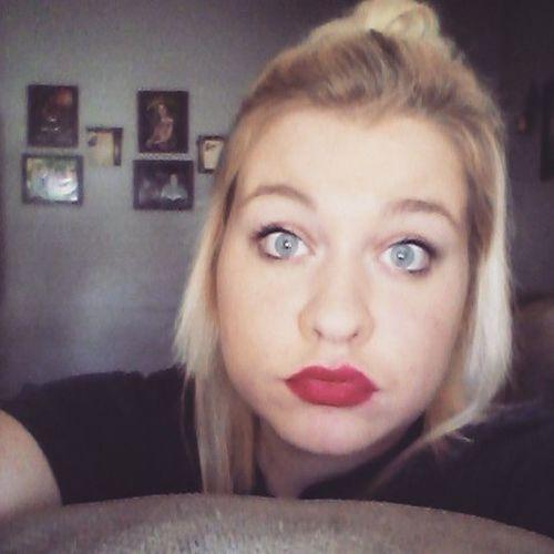Redlips Redlipstick BlueEyes Blondesdoitbetter Instalike Basicwhitegirlhashtags Basic Naturalbiglips💋