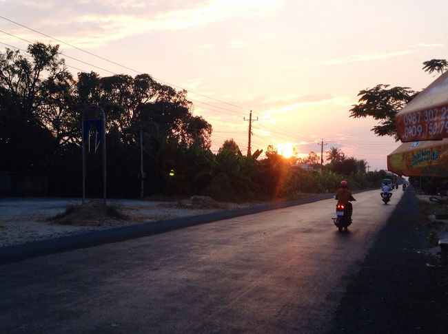 Sunset at Vietnam Roads Peace And Quiet Lovely View Taking Photos Check This Out Relaxing Vietnamphotography Travel EyeEm Gallery