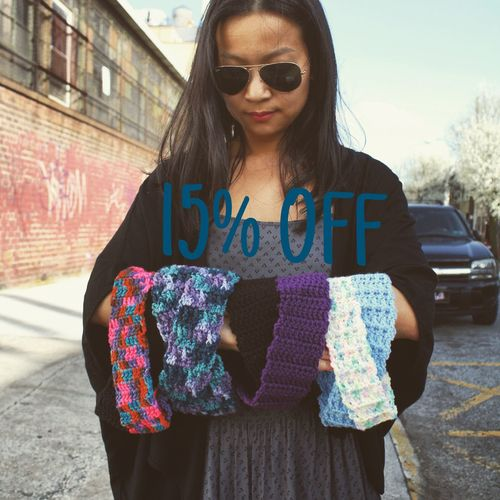 Discount Sale Standing Casual Clothing Front View Headband