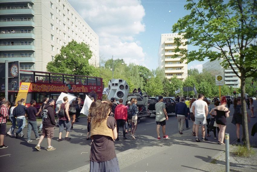 Berlin City City Life Dancing Musictank Openair Outdoors Parade Party People Protest The Great Outdoors - 2016 EyeEm Awards