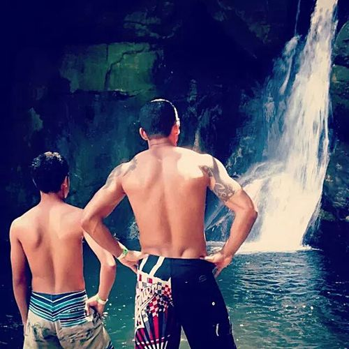 Hum lugar pra Relaxar !!! Meupai MelhorPaiDoMundo Aldeia Velha Cachoeira <3 ALGUMLUGARPRARELAXAR