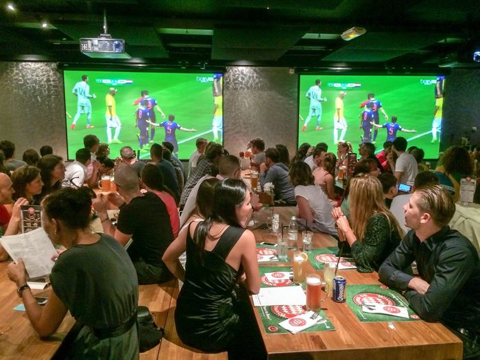 Soccer Brazil 2014 World Cup Hanging Out Great Atmosphere