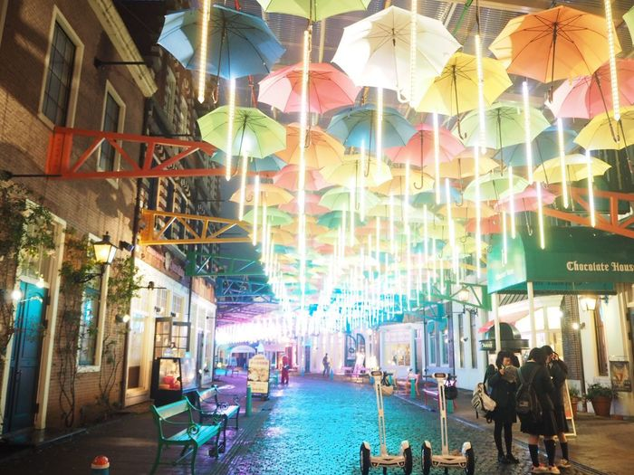 Japan Japan Photography City Multi Colored Building Exterior Travel Destinations Adults Only Illuminated People Men Real People Women Night Large Group Of People Outdoors Adult Nightlife Architecture Cityscape Water Crowd 日本 ハウステンボス 長崎 Illumination