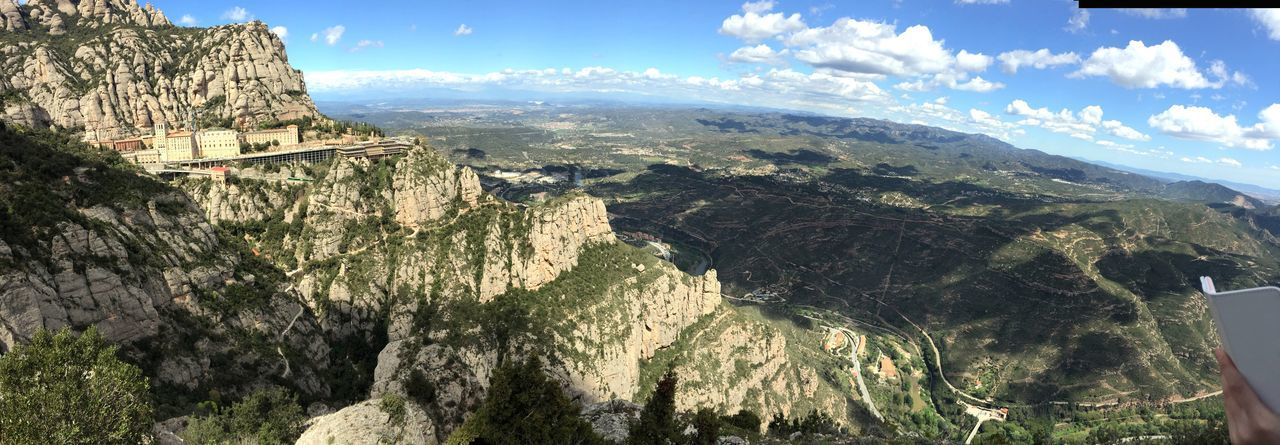 My Year My View Montserrat Barcelona Barcelona, Spain Mountain Nature No People Outdoors