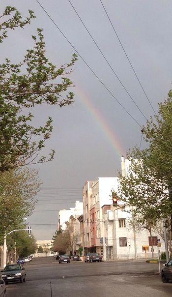 After Rain Rainbow