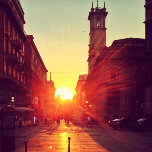 Sunset in Milan First Eyeem Photo