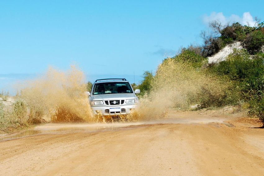 Offroad in the Outback - Western Australia 4x4 4wd Four Wheel Drive Car Adventure Unsealed Road Outback Road Road Trip Road Flood Waves Travel Transportation Exploration Need For Speed