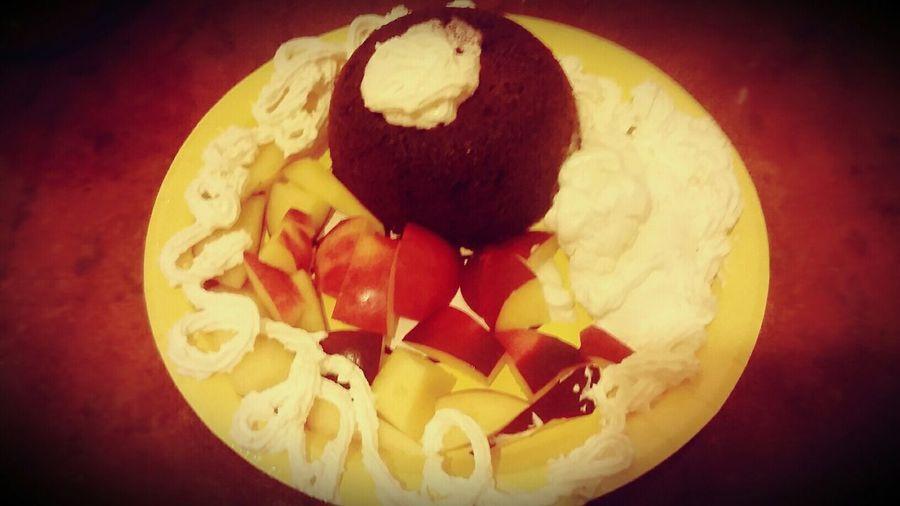 Nightphotography Chokolate Muffins Schokomuffin