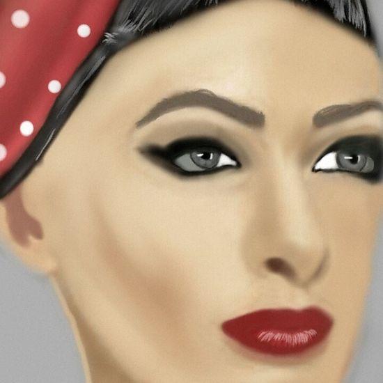One Woman Only Beautiful Woman Beautiful People Human Eye Digital Art Portrait Myartlife EyeEm Gallery Art, Drawing, Creativity MYArtwork❤ Human Face Digitalart  Photooftheday My Shop