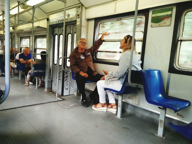 Sitting EyeEmNewHere EyeEm Selects People Train Interior Cumaná Fooling Around Fools