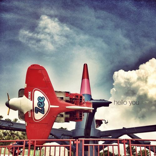 the zee forces Sky And Clouds Plane Hello World Summer