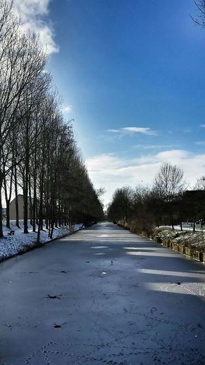 Groningen Winter Snow Sun Myfuckinggroningen