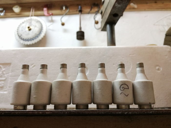 Old fuses in a