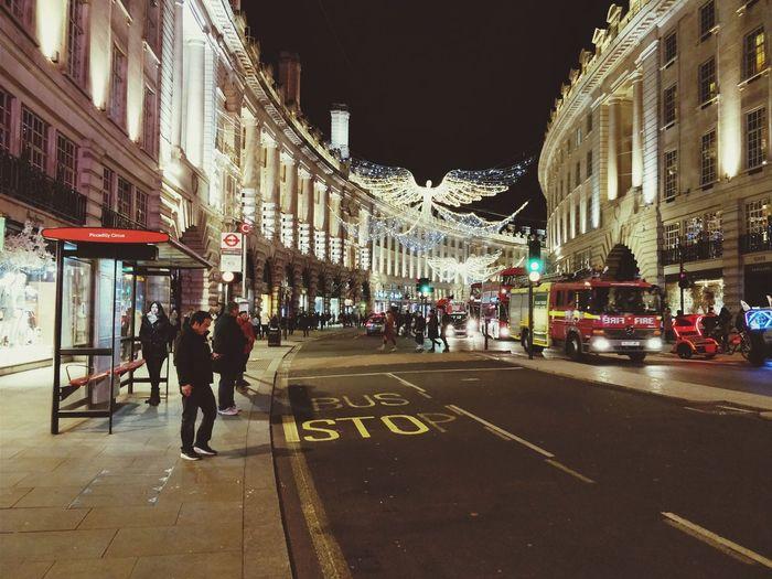 Christmas Lights Regentstreet Regent's Street London London Lifestyle Building Exterior Illuminated City Street Built Structure City Life